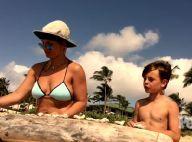 Britney Spears en toute intimité : Châteaux de sable et complicité avec ses fils