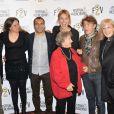 Edmond Bensimon, Carole Franck, Zinedine Soualem, Pauline Lefèvre, Marthe Villalonga, Thierry Frémont et Elisa Servier - Soirée d'ouverture du 5ème Festival 2 cinéma de Valenciennes le 25 mars 2015.