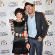 Catherine Schwaab, Gildas Le Gac - Soirée d'ouverture du 5ème Festival 2 cinéma de Valenciennes le 25 mars 2015
