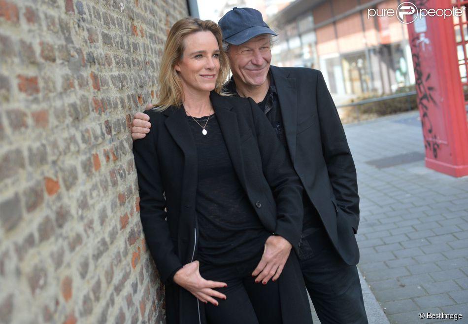 Géraldine Danon et son mari Philippe Poupon - Rencontre avec Géraldine Danon et son mari Philippe Poupon lors du Festival2Cinéma de Valenciennes le 24 mars 2015