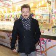Bruno Guillon à la soirée d'ouverture de la Foire du Trône, organisée au profit du Secours populaire à Paris le 27 mars 2015.