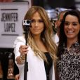 Jennifer Lopez lors d'un photocall pour sa collection au Coppel store Forum de Buena Vista à Mexico, le 23 mars 2015