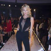 Estelle Lefébure glamour et Hélène Ségara radieuse au Casa Fashion Show