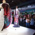 Présentation de l'exposiiton Jean Paul Gaultier qui se tient du 1er avril au 3 août 2015 au Grand Palais à Paris. Le 31 mars 2015.