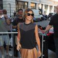 Cheryl Cole Fernandez-Versini arrive dans les studios de la radio 1 BBC à Londres. Le 24 juillet 2014