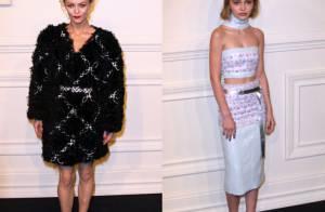 Vanessa Paradis et sa fille Lily-Rose : Glamour chez Chanel face aux 'filles de'