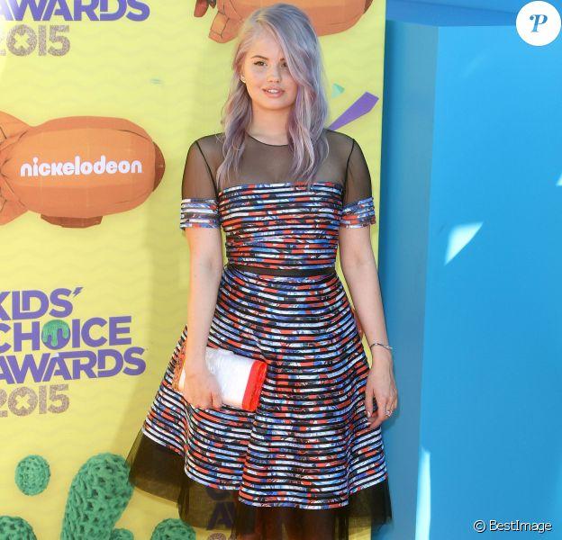 "Debby Ryan à la soirée ""Nickelodeon's 28th Annual Kids' Choice Awards"" à Inglewood, le 28 mars 2015"