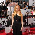 Debby Ryan lors de la soirée des MTV Movie Awards 2014 à Los Angeles, le 13 Avril 2014.