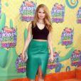 """Debby Ryan à la 27ème cérémonie annuelle des """"Kid's Choice Awards"""" à Los Angeles, le 29 mars 2014."""
