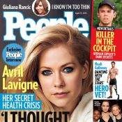 Avril Lavigne, malade : ''Je ne pouvais plus parler ni bouger, j'ai cru mourir''