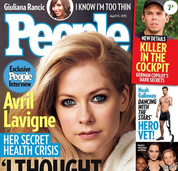 Retrouvez l'intégralité de l'interview d'Avril Lavigne dans le prochain numéro de People, en kiosque le 3 avril prochain.