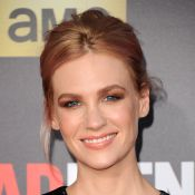 January Jones en couple : La belle blonde de Mad Men casée avec Will Forte