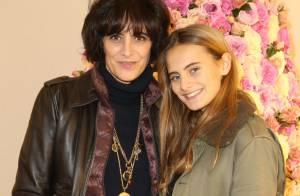 Inès de la Fressange: Sa fille Violette est la nouvelle muse de Karl Lagerfeld !