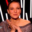 Anne Sila dans The Voice 4, sur TF1, le samedi 21 février 2015