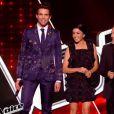Les coachs : Jenifer, Zazie, Mika et Florent Pagny - Premier  live  de  The Voice 4  sur TF1. Samedi 4 avril 2015.