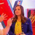 Sharon Laloum - Premier  live  de  The Voice 4  sur TF1. Samedi 4 avril 2015.