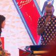Alvy Zamé - Premier  live  de  The Voice 4  sur TF1. Samedi 4 avril 2015.