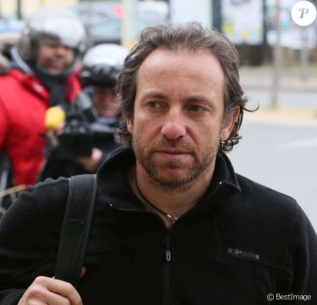 Philippe Candeloro de retour à Paris le 14 mars 2015 après le drame de Dropped en Argentine.
