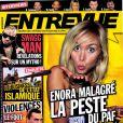 """Couverture du magazine """"Entrevue"""" - avril 2015"""