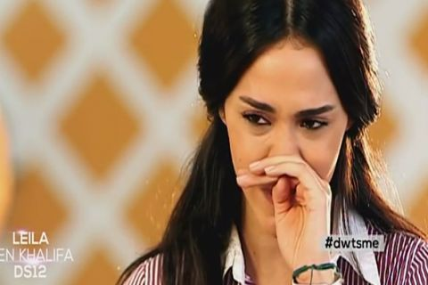 Leila Ben Khalifa, blessée dans DALS, fond en larmes...