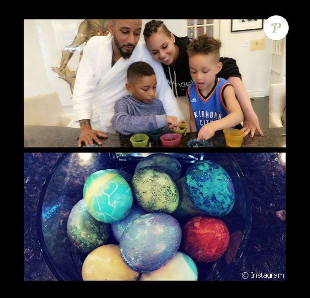 Alicia Keys pour Pâques, le 6 avril 2015