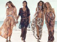 Doutzen Kroes et Adriana Lima : Retrouvailles mode sur la plage