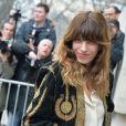 """Lou Doillon - Arrivées au défilé de mode """"Chanel"""", collection prêt-à-porter automne-hiver 2015/2016, à Paris, le 10 mars 2015."""