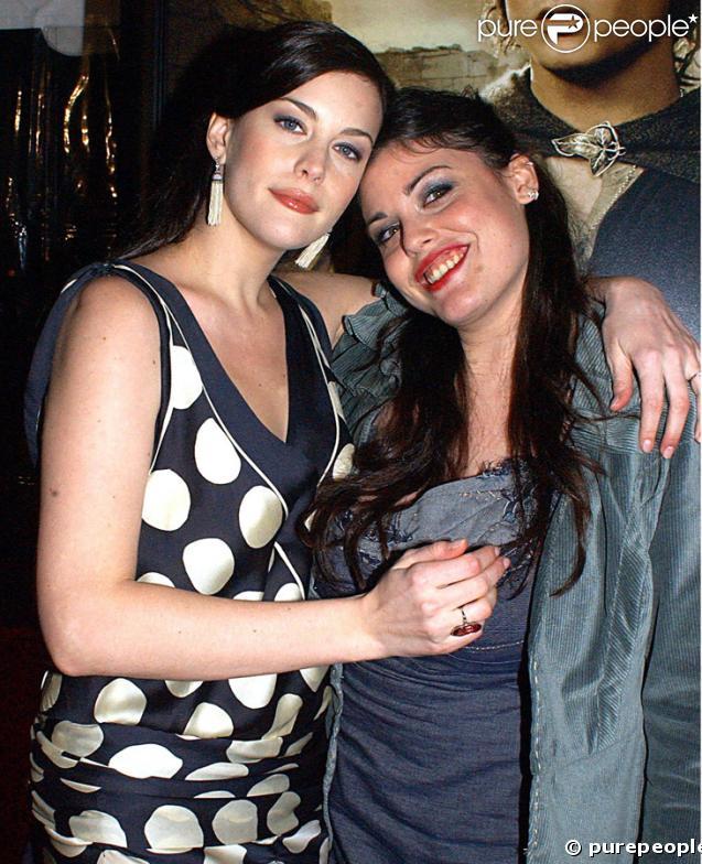 Liv Tyler et sa soeur Mia