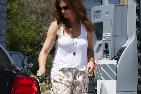 Cindy Crawford : Question look, le top de 49 ans assure même le dimanche