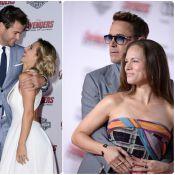 Chris Hemsworth et sa belle Elsa Pataky, glam' devant Robert Downey Jr. in love