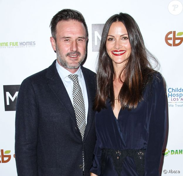 David Arquette et Christina McLarty à Los Angeles le 5 mars 2015 à Los Angeles.