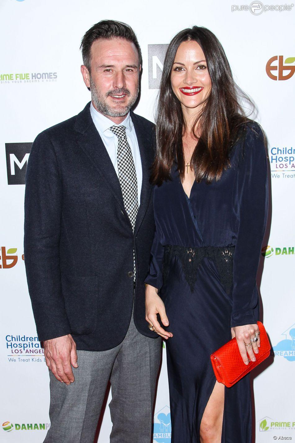 David Arquette et Christina McLarty à Los Angeles le 5 mars 2015 à Los Angeles.