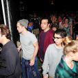 """"""" Robert Pattinson après avoir assisté au concert de FKA Twigs au 2e jour du Coachella Music Festival à Indio, le 11 avril 2015. """""""