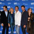"Hugh Jackman, Terrence Howard, Jake Gyllenhaal, Maria Bello, Paul Dano, Melissa Leo - Photocall de ""Prisoners"" au festival du film de Toronto le 7 septembre 2013."