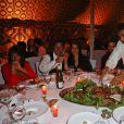 """Exclusif - Sofia Essaïdi - Le célèbre chef tropézien Christophe Leroy a organisé à Marrakech un week-end de fête pour la pose de la première pierre de son école de cuisine franco-marocaine dans son hôtel restaurant le """"Jardin d'Ines"""" à Marrakech au Maroc le 11 avril 2015."""