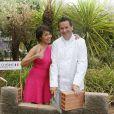 """Exclusif - Saïda Jawad - Le célèbre chef tropézien Christophe Leroy a organisé à Marrakech un week-end de fête pour la pose de la première pierre de son école de cuisine franco-marocaine dans son hôtel restaurant le """"Jardin d'Ines"""" à Marrakech au Maroc le 11 avril 2015."""