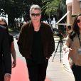 """L'acteur et producteur américain Ray Liotta lors du photocall de la série """"Texas Rising"""" dans le cadre du MIPTV 2015 à Cannes le 13 avril 2015 qui se déroule au Palais des Festivals du 13 au 16 mai."""