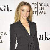Amber Heard brille en solo à Tribeca face à Shia LaBeouf et son étrange coiffure