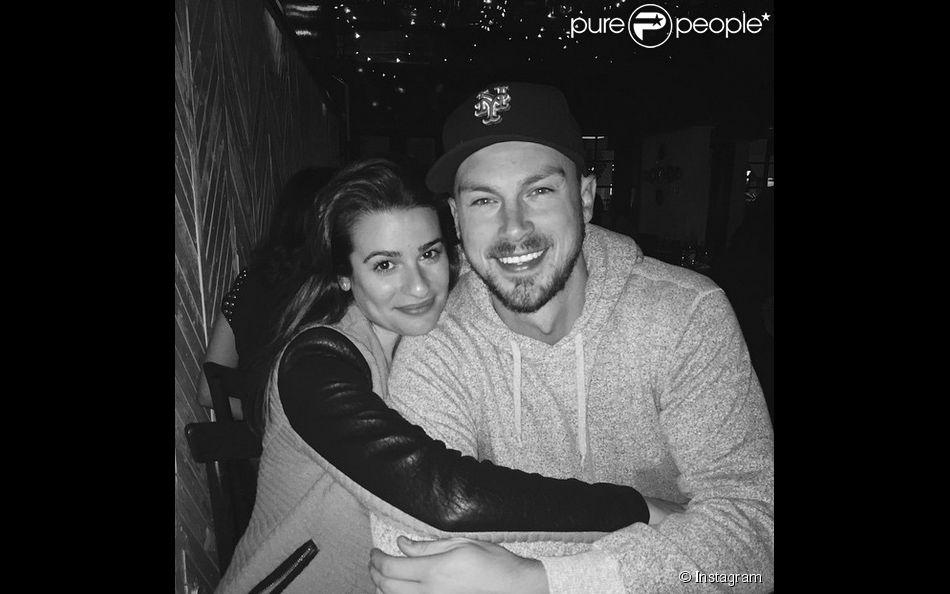 Lea Michele fête le premier anniversaire de sa rencontre avec Matthew Paetz, son compagnon actuel. Le 19 avril 2015 sur Instagram