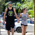 Lea Michele et son petit ami Matthew Paetz sont allés se promener à Studio City, le 7 mars 2015