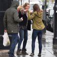 Exclusif - Pippa Middleton sur King's Road dans le quartier de Chelsea à Londres, le 29 avril 2015.