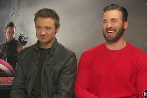 Jeremy Renner, Chris Evans et la 'p*te' d'Avengers : Les deux acteurs s'excusent
