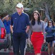 Bruce Jenner et Kim Kardashian à Los Angeles, le 20 octobre 2014.