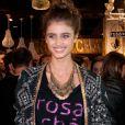 """Taylor Hill - Inauguration de la boutique Rosa Cha dans le centre commercial """"Iguatemi"""" à Sao Paulo, le 29 juillet 2014."""