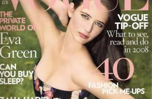 Eva Green en couverture de Vogue US