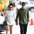 Exclusif - Robert Pattinson et sa petite amie FKA twigs à Miami. Le 5 décembre 2014.