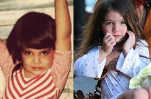 Katie Holmes à 6 ans : Parfait sosie de sa fille Suri !