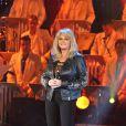 Exclusif - Bonnie Tyler à l'enregistrement de l'émission  Les Années Bonheur  à La Plaine Saint-Denis le 24 mars 2015. Emission diffusée le 2 mai 2015.