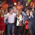 Exclusif - Le chanteur Cali à l'enregistrement de l'émission  Les Années Bonheur  à La Plaine Saint-Denis le 24 mars 2015. Emission diffusée le 2 mai 2015.