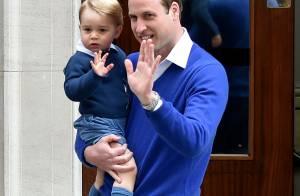 Royal Baby George : Craquant tout en bleu pour la princesse de Cambridge !